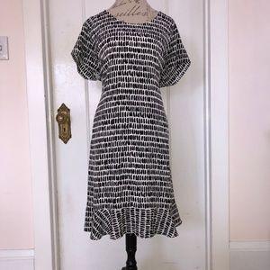 Garnet Hill Silk Dress - Size 18